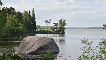 Защитная бухта в парке Монрепо
