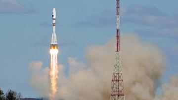 Ракета-носитель «Союз-2.1а» с тремя российскими спутниками «Ломоносов», «Аист-2Д» и SamSat-218 стартовала с космодрома «Восточный»