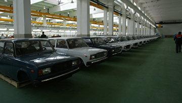 На заводе «Пищемаш» по сборке классических автомобилей ВАЗ-2107