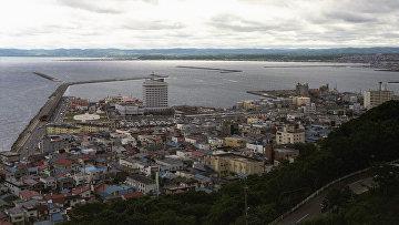 Порт города Вакканай