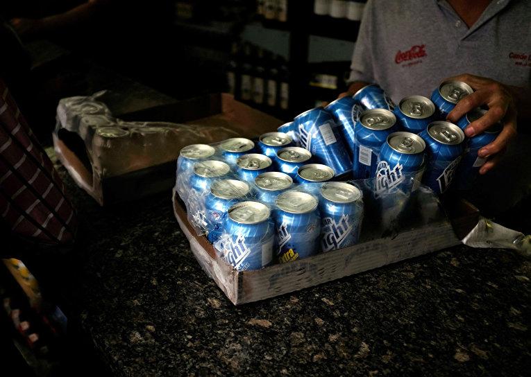 Пиво венесуэльской компании Cerveceria Polar