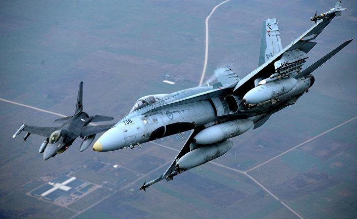 Самолеты НАТО в Литве