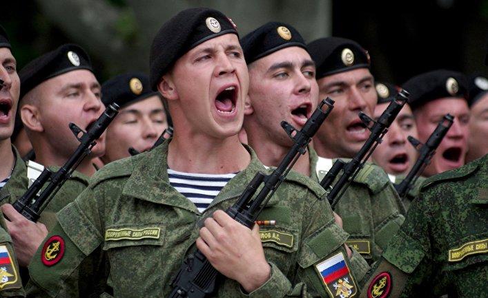 Репетиция парада Победы в Севастополе