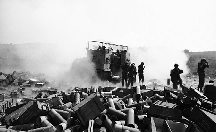 Кровавая битва Долина слез, Война Судного дня 1973