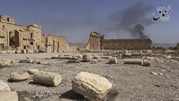 Пальмира после захвата боевиками Исламского государства