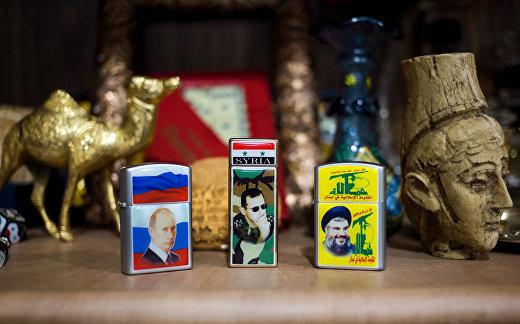 Магазин сувенирной продукции в Дамаске