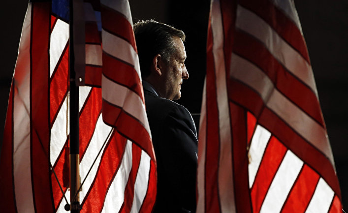Кандидат в президенты США от Республиканской партии Тед Круз