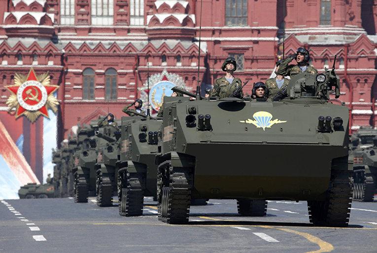 БТР-МД «Ракушка» на параде Победы