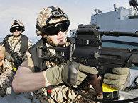 Служащие части специального назначения армии Германии