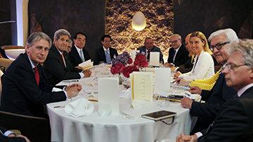 Встреча участников переговоров с Ираном по ядерной программе в Вене