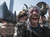 Во время ежегодного фестиваля викингов в Испании