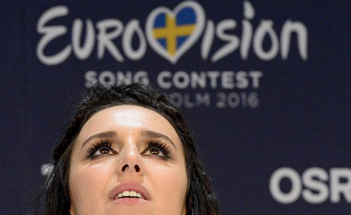 Джамала, победившая в финале международного конкурса «Евровидение-2016»