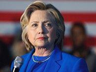 Кандидат в президенты США от Демократической партии Хиллари Клинтон во время предвыборного ралли в городе Луисвилл штата Кентукки