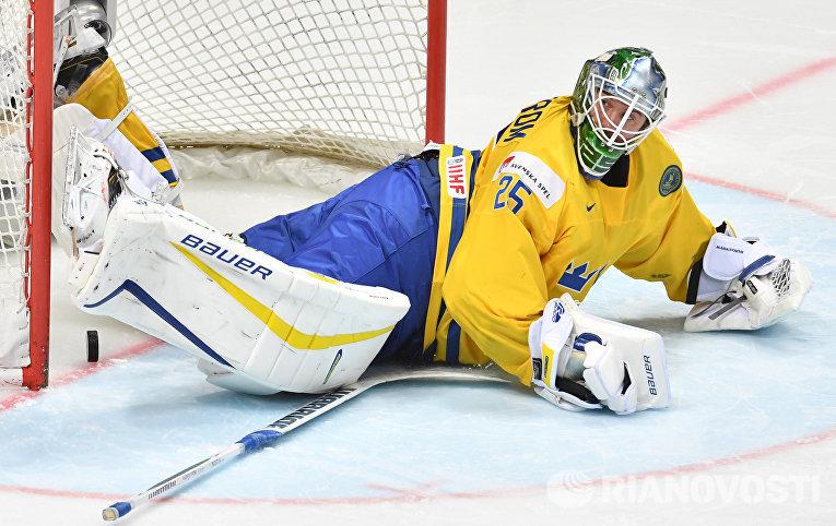 Хоккей. Чемпионат мира. Матч Швейцария - Швеция