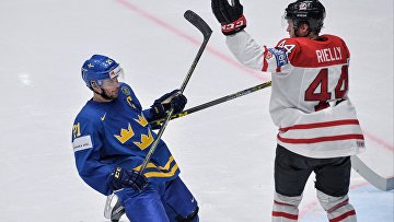 Хоккей. Чемпионат мира. Матч Канада - Швеция