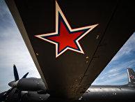 Первый серийный противолодочный самолет Ил-38Н