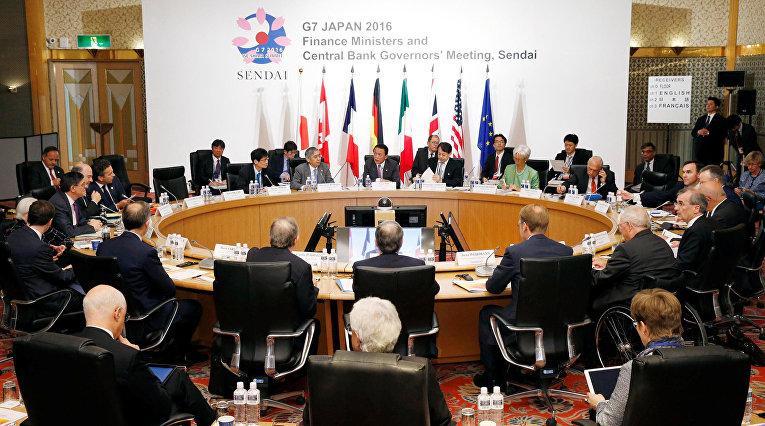 Первое заседание министров финансов G7