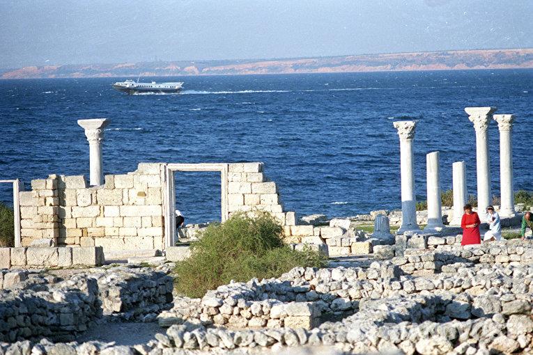 Базилика древнего Херсонеса