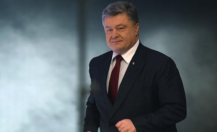 Президент Украины Петр Порошенко на пресс-конференции в Киеве