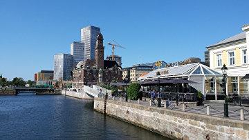 Город Мальмё в Швеции