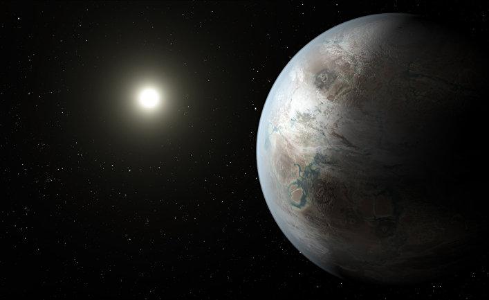 Так художник представил себе экзопланету Kepler-452b