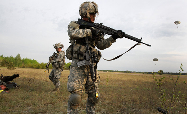 Во время военных учений «Черная Стрела 2014» в Литве