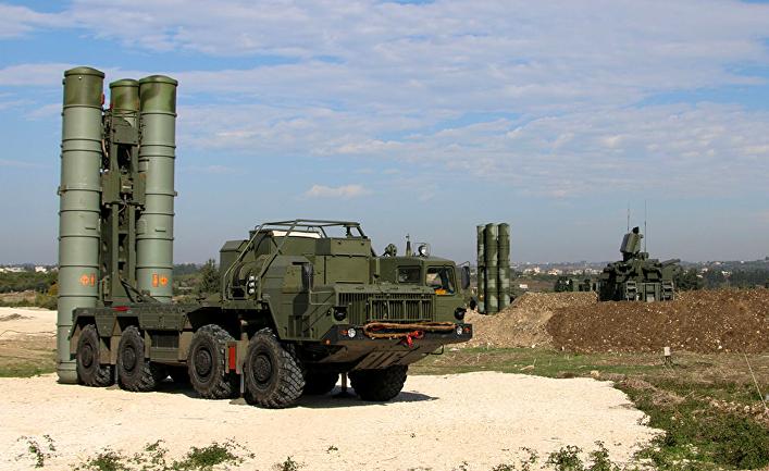 Зенитно-ракетные комплексы С-400 на российской авиабазе Хмеймим, Сирия