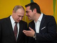 Визит президента РФ Владимира Путина в Грецию