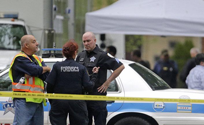 Полиция Чикаго на месте преступления