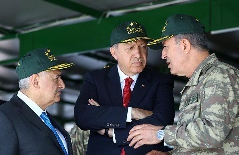 Во время военных учений Efes-2016 в Турции