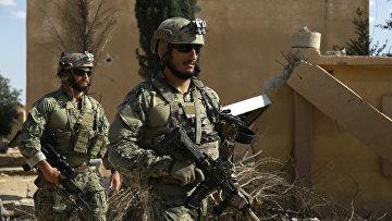 Американский спецназ в сирийской провинции Ракка