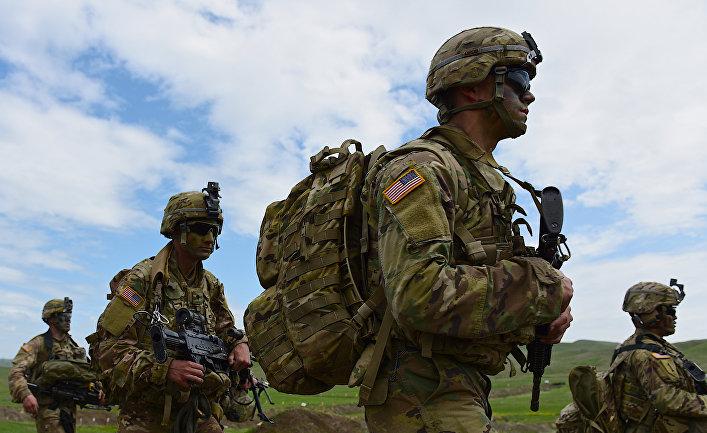 """Совместные военные учения вооруженных сил Грузии и США """"Достойный партнёр"""""""