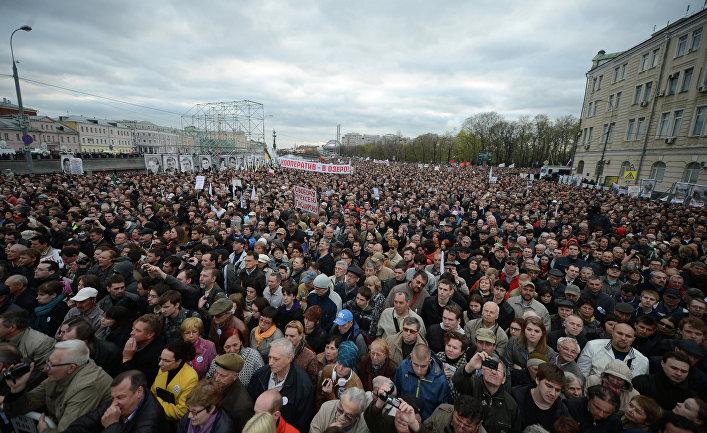 Митинг оппозиции на Болотной площади