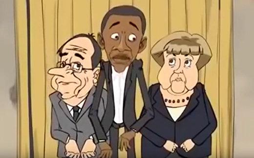 Путин, Обама, Меркель, Олланд и... Эрдоган
