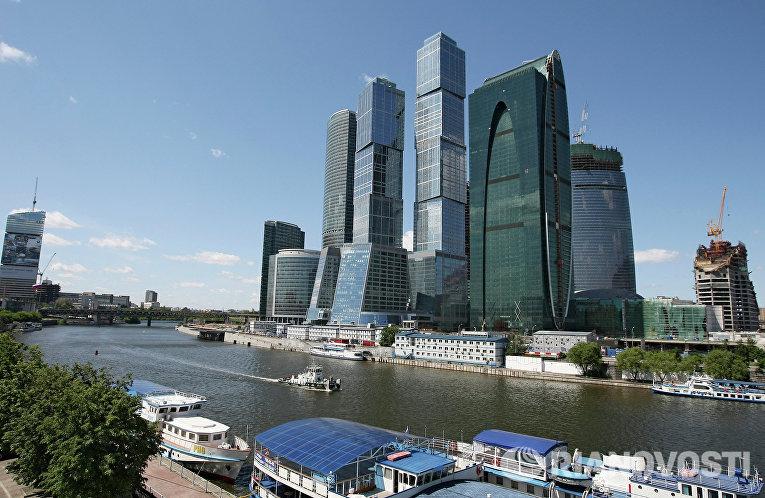 Комплекс зданий делового центра «Москва-Сити»