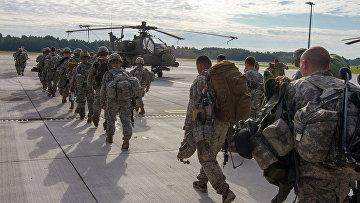 Солдаты США в Латвии