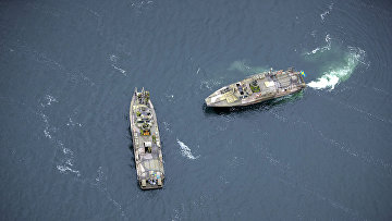 Корабли ВМС Швеции патрулируют акваторию Балтийского моря
