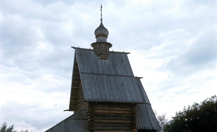 Деревянная Георгиевская церковь в Юрьев-Польском
