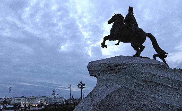"""Памятник Петру I """"Медный всадник"""""""