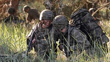 Солдаты польской армии во время учений НАТО «Анаконда-2016»