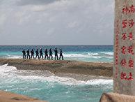 Народно-освободительной армии Китая на архипелаге Спратли в Южно-Китайском море
