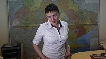 Народный депутат Украины Надежда Савченко