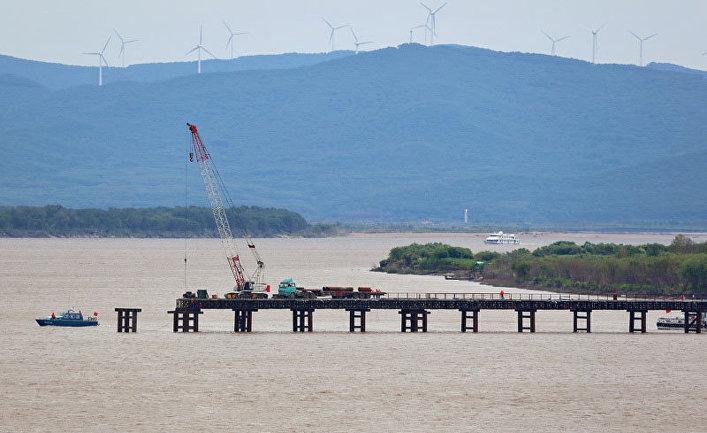 Строительство моста «Тунцзян – Нижнеленинское» в ЕАО