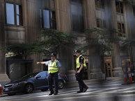 Сотрудники полиции в Кливленде