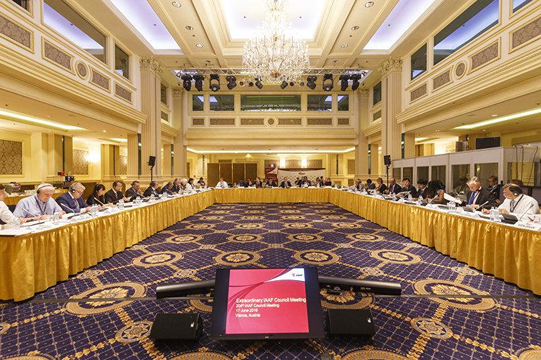 Заседание Совета Международной ассоциации легкоатлетических федераций (IAAF) в Вене