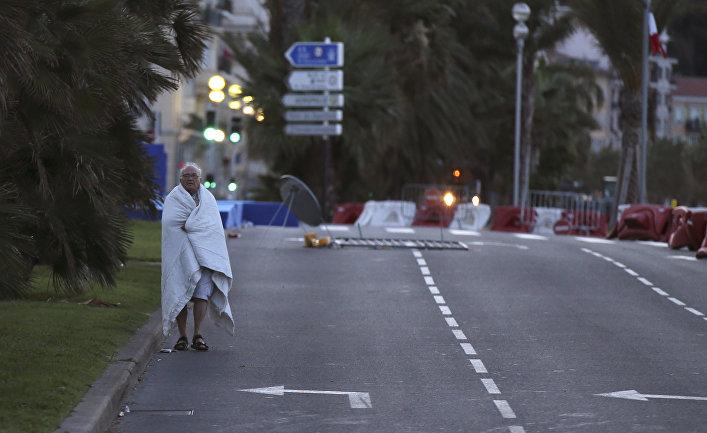 Мужчина, пострадавший во время теракта на Английской набережной в Ницце
