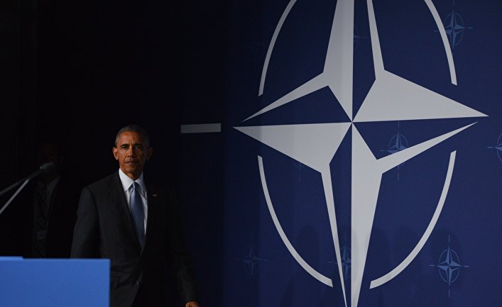 Президент США Барака Обама на саммите НАТО в Варшаве