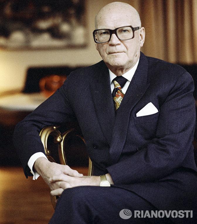 Президент Финляндии Урхо Кекконен