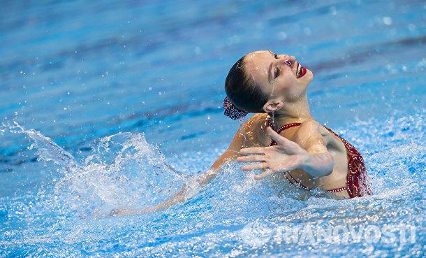 Синхронное плавание. Наталья Ищенко