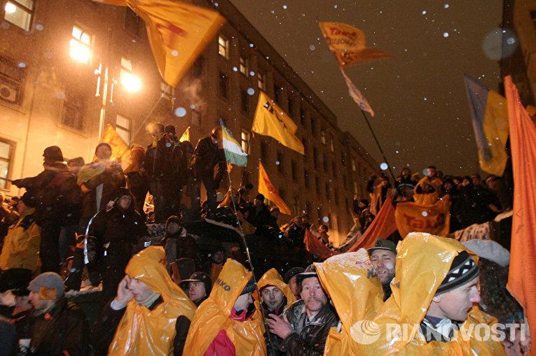 Оранжевая революция в Украине, 2004 год